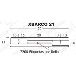 Etiquetas XBARCO21