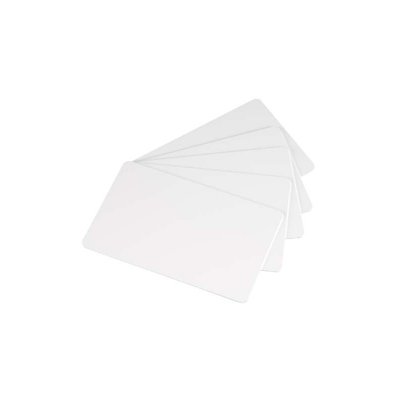 500 tarjetas blancas sin banda magnética